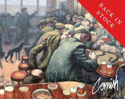 Norman Cornish Behind The Scenes