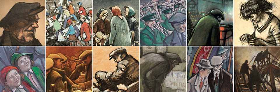 Norman Cornish Banner
