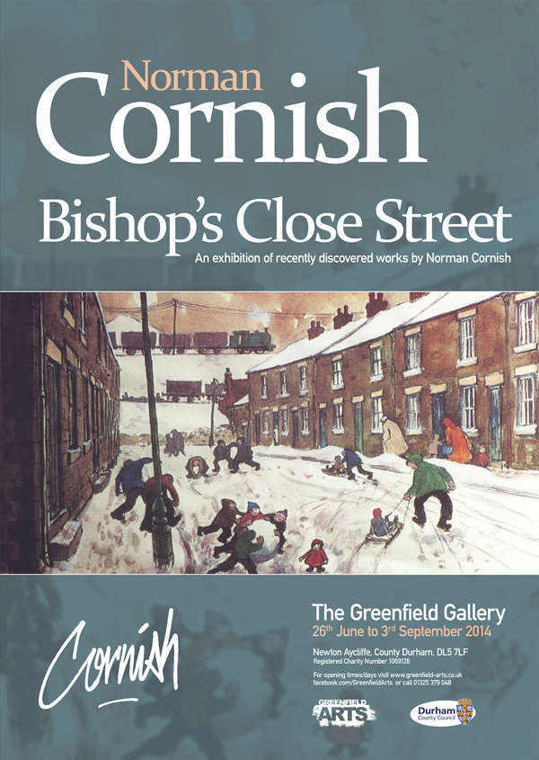 A poster for the Bishop's Street Close Exhibition